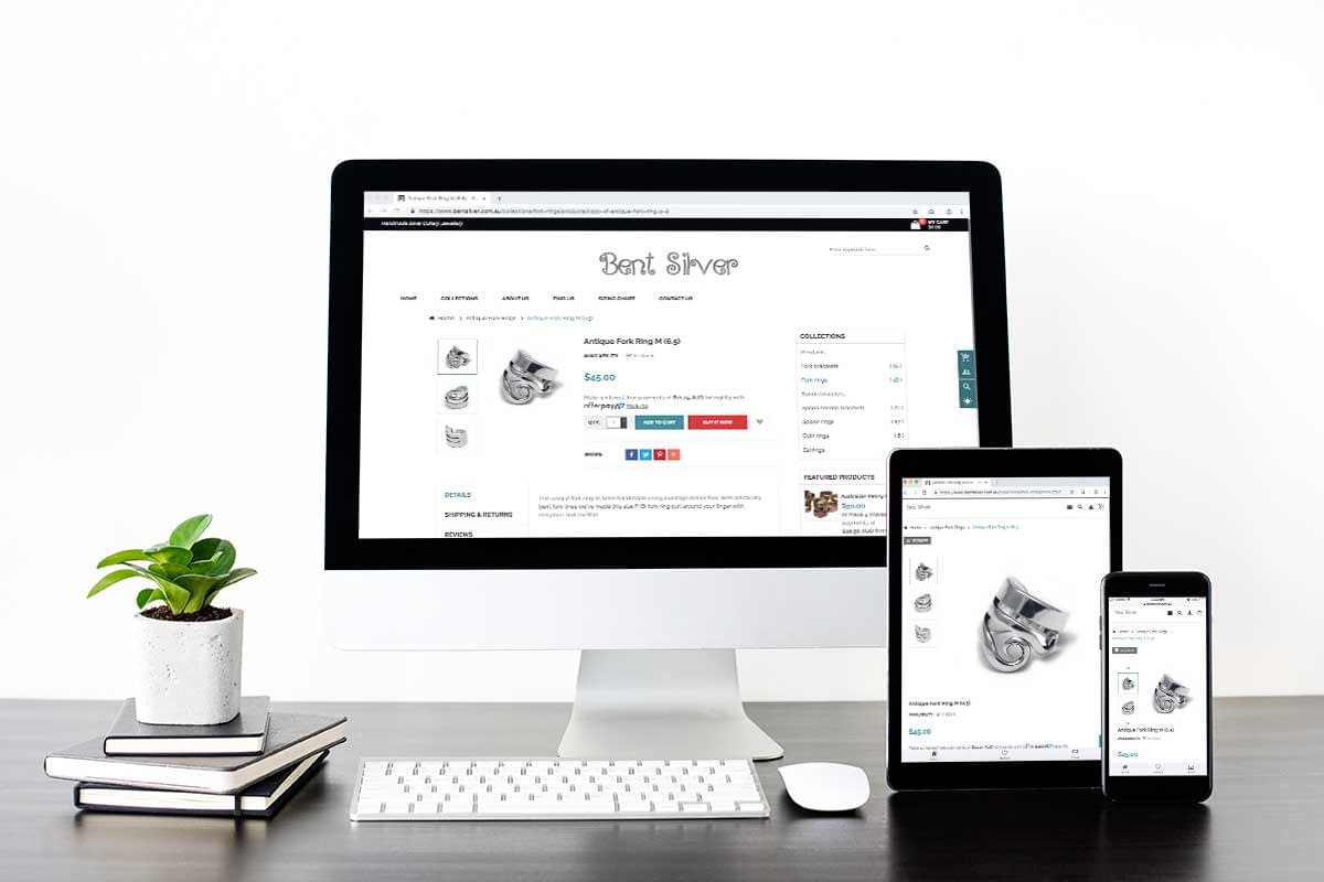 Website Re-Design Bentsilver